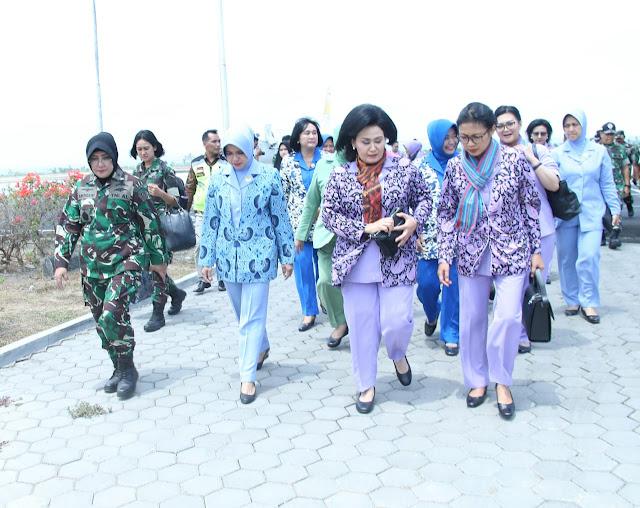 Ketua Umum Dharma Pertiwi Kunjungan Kerja ke Lombok