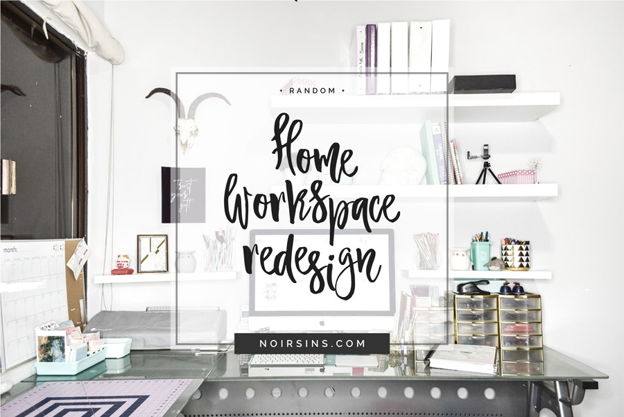 Home Workspace redesign