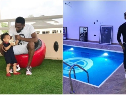 Image result for What police discovered when they visited D'banj's house in Ikoyi