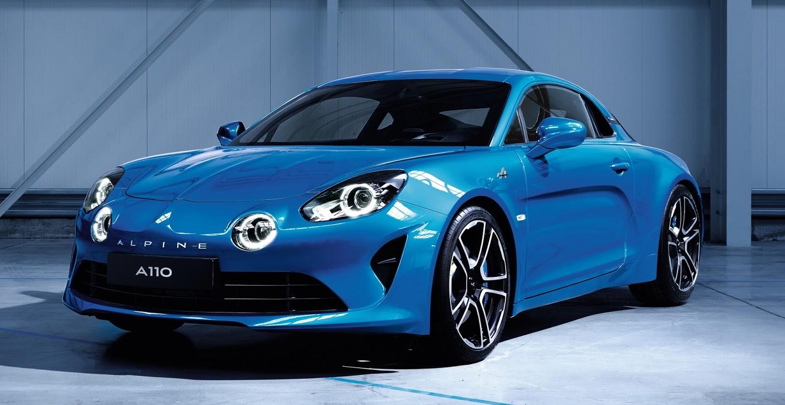 Renault revela primeiras imagens do aguardado esportivo Alpine A110 para o Salão de Genebra
