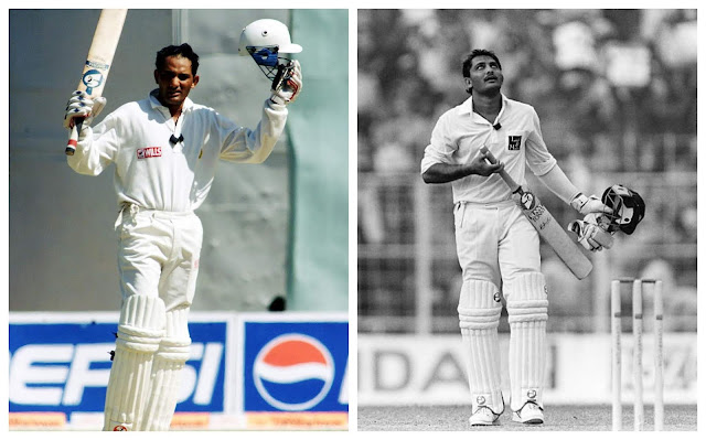 azharuddin test cricket pics