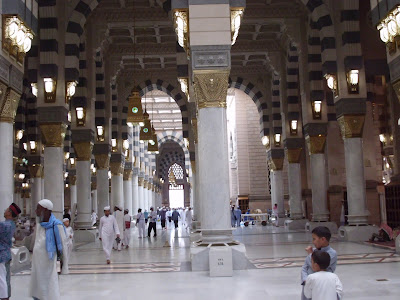 MASJID NABAWI, LOVE AT FIRST SIGHT