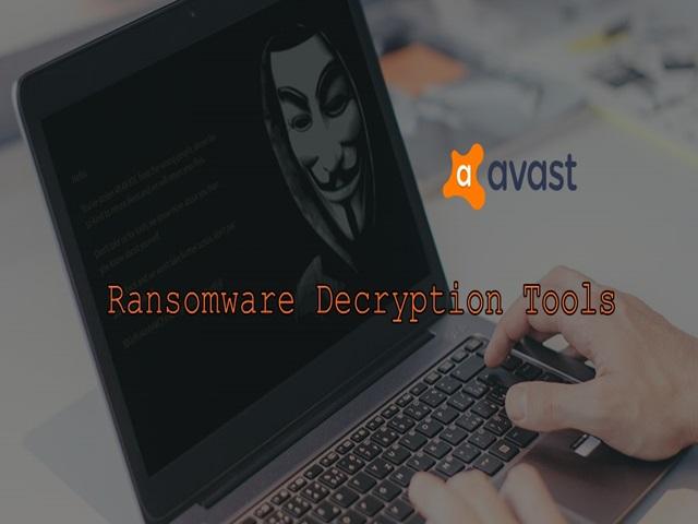 Avast Ransomware Decryption Tools - Herramientas de Avast para desencriptar archivos afectados por varios ransomware