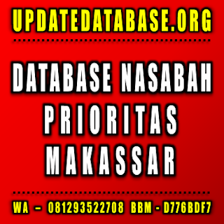Jual Database Nasabah Makassar