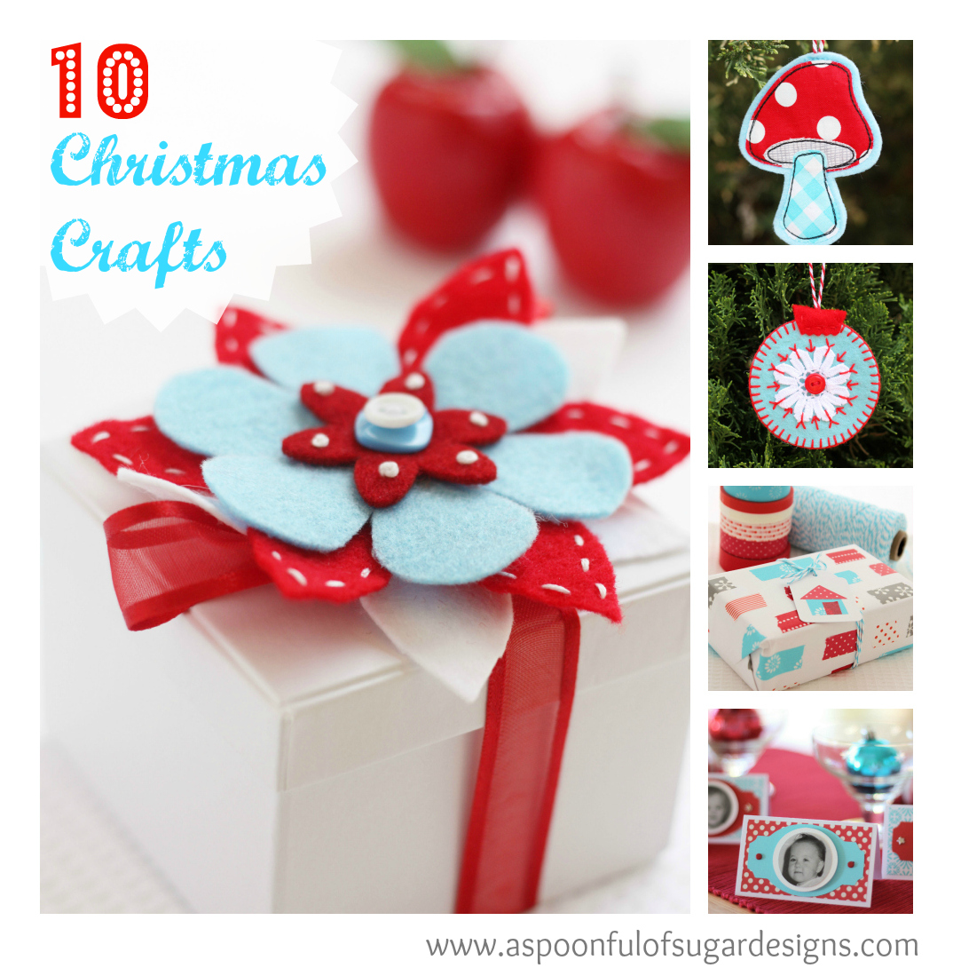 Spoonful Christmas Crafts