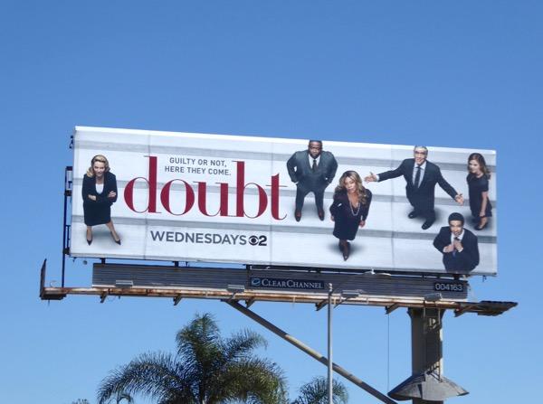 Doubt series premiere billboard