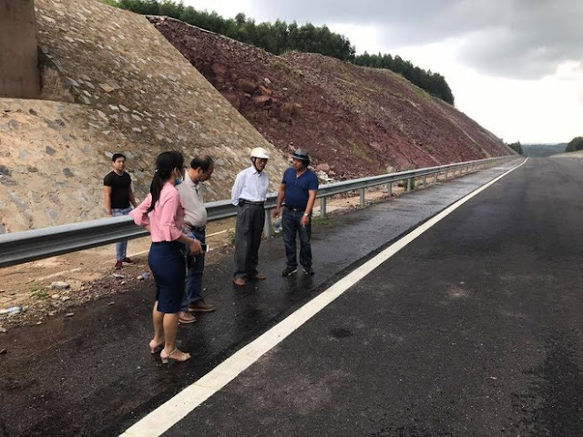 Hội Khoa học Kỹ thuật Cầu đường Đà Nẵng kiểm tra thực tế