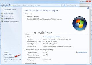 tips menonaktifkan windows update otomatis