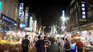 Nongkrong Asyik di Pasar Malam Kaohsiung Taiwan