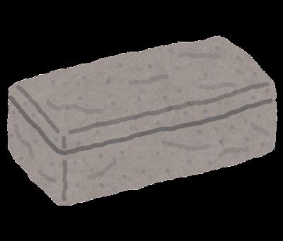 石の棺のイラスト
