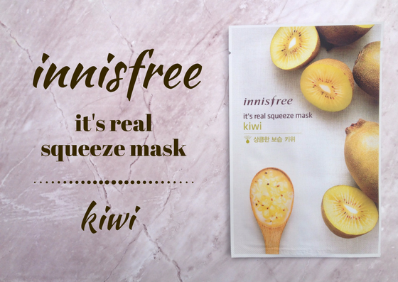 ZAMASKOWANA ŚRODA Z SINGASHOP.PL | INNISFREE IT'S REAL SQUEEZE MASK KIWI