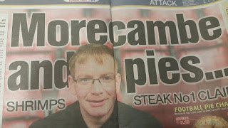 The Sun Morecambe football pie review