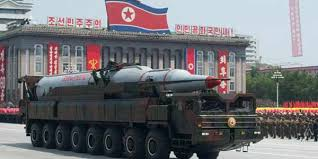 9. Bom Hidrogen Korut (korea utara)