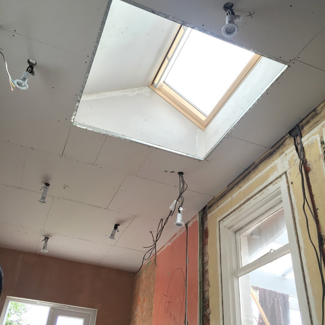 bringing light into a room with a roof window