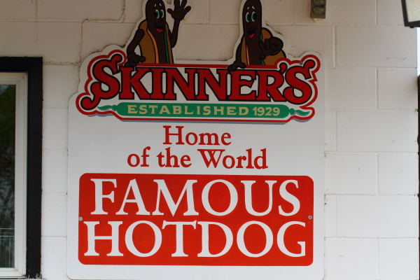 Skinners World Famous Hot Dogs