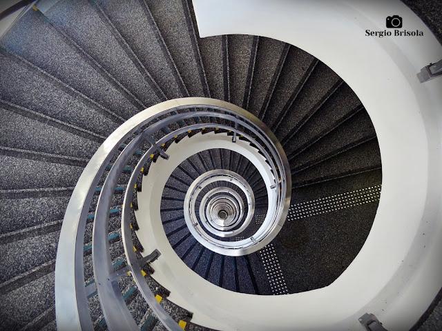 Vista superior da Escadaria do Palácio Anchieta - Bela Vista - São Paulo
