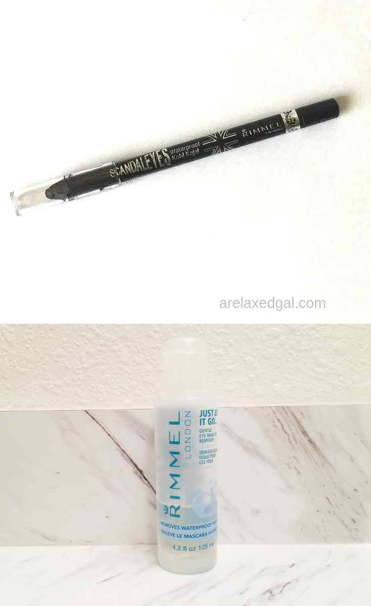 Product Review Rimmel Scandaleyes Eyeliner and Eye Make Up Remover | A Relaxed Gal