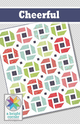 Cheerful quilt pattern by A Bright Corner