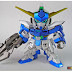 SD Gundam AGE-FX chrome painted build