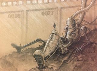 Student art: a futuristic robot