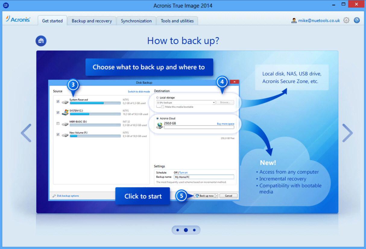 Acronis True Image Home Premium 2014 17 Build 6673