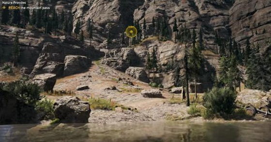 Far Cry 5, Nature Provides, Mountain Pass, Climb