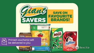 Giant Supermarket Cash Voucher Discount Offer Promo