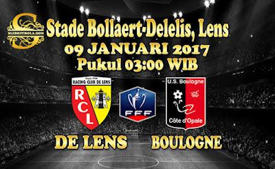JUDI BOLA DAN CASINO ONLINE - PREDIKSI PERTANDINGAN FRANCE CUP LENS VS BOULOGNE 09 JANUARI 2018