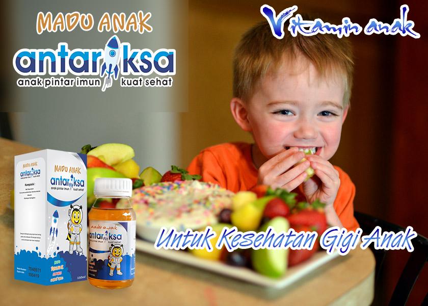 Vitamin Anak Untuk Kesehatan Gigi