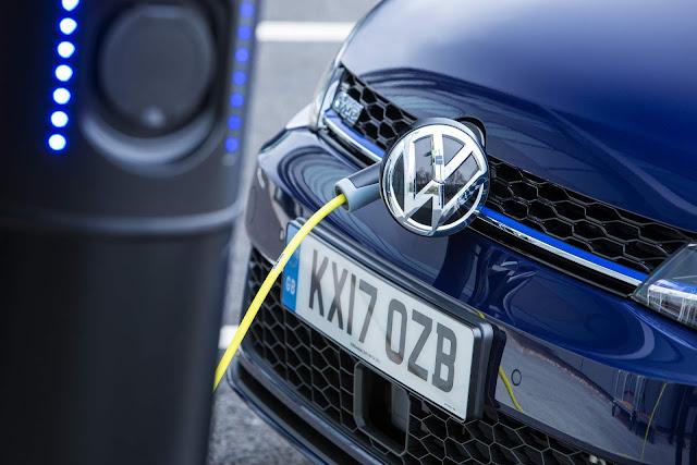 VW Golf GTE 2018 - carregador de baterias