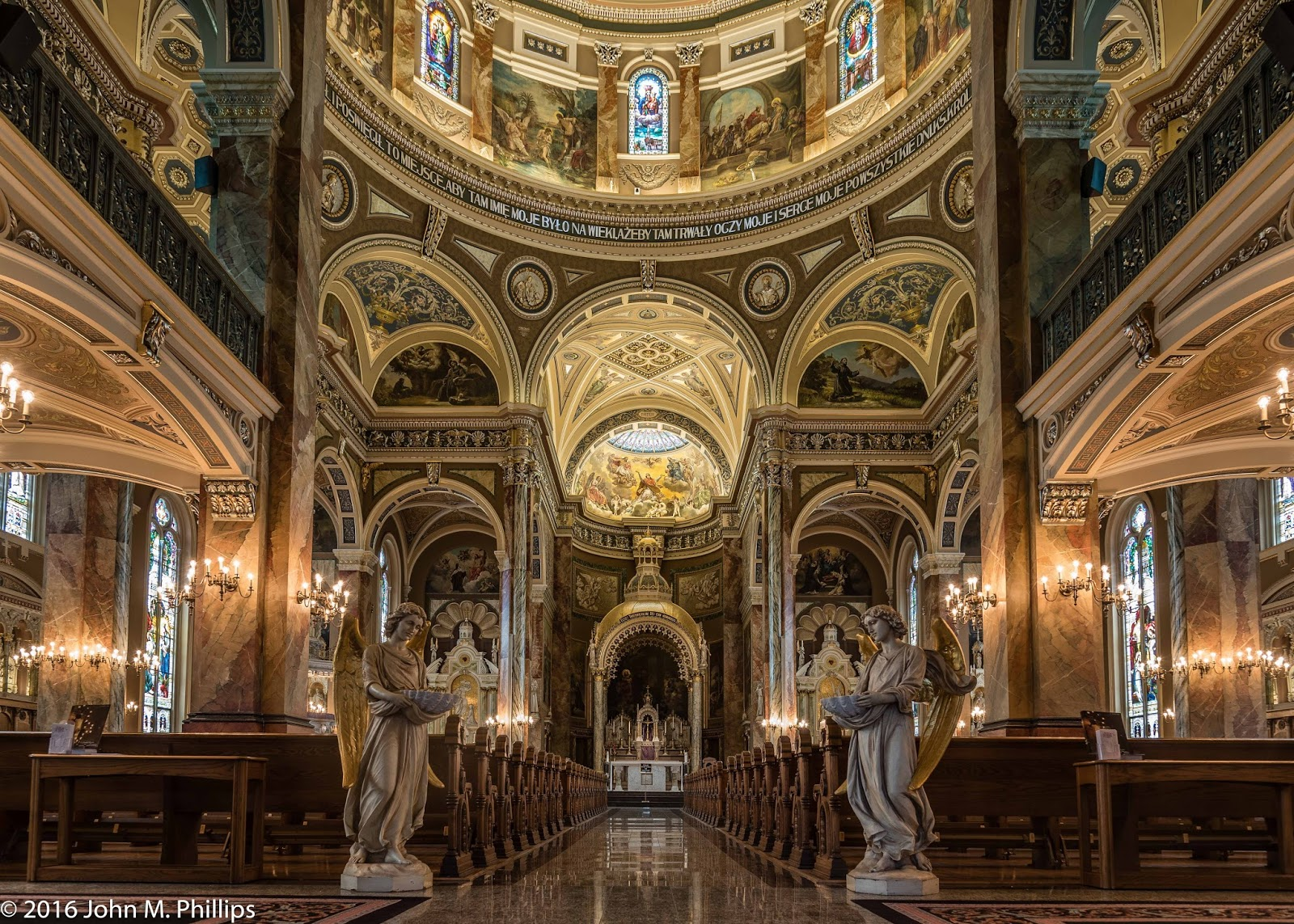 Visit the Basilica of St. Josaphat