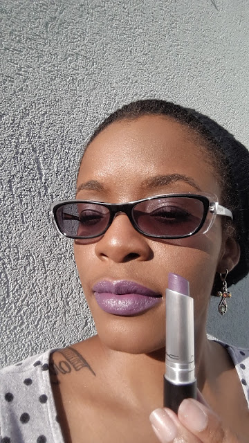 M.A.C Pro Longwear Lipcreme 'Goes and Goes' swatch www.modenmakeup.com