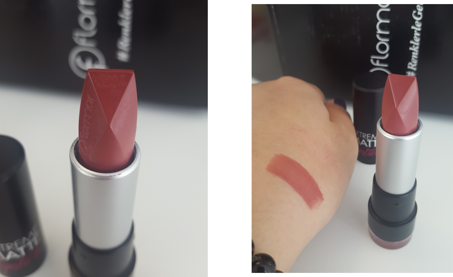 You Do You Flormar Extreme Matte Lipstick 013 015