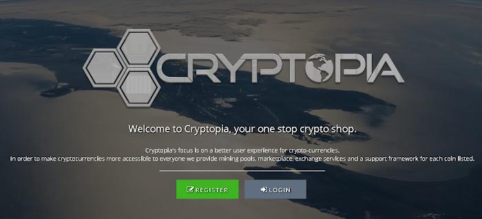 Panduan cara mendaftar di situs exchange cryptopia, cara jual beli altcoin ke bitcoin di cryptopia, tutorial cara mudah daftar disitus market cryptopia, cara menjual altcoin untuk beli bitcoin di market exchange cryptopia