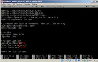 Cara Meremote Debian Virtualbox Menggunakan PuTTY
