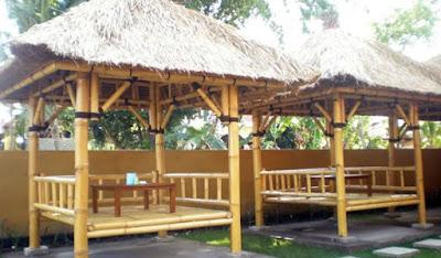Gazebo Khas Indonesia - Bambu