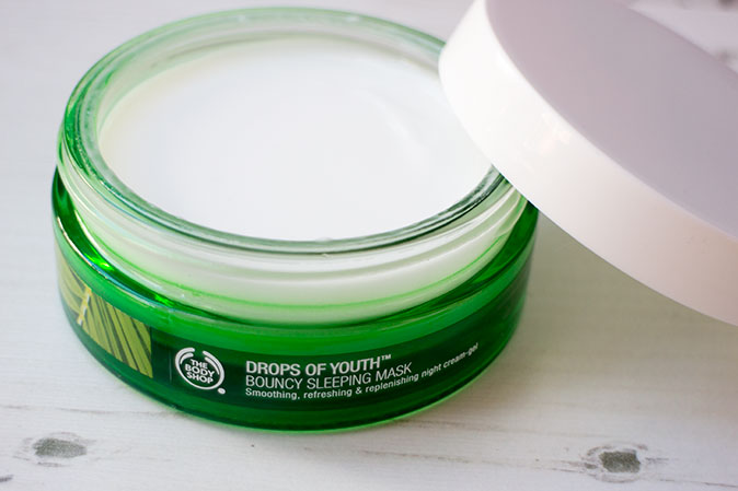 The Body Shop Bouncy Sleeping Mask Review