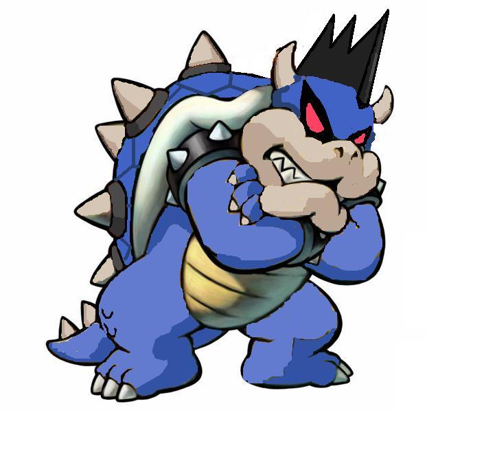 Mario Pages Coloring Bowser Dark