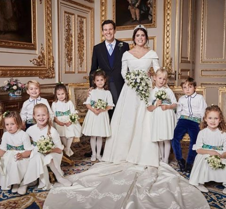 Official photoraphs from Princess Eugenie and Jack Brooksbank's wedding released