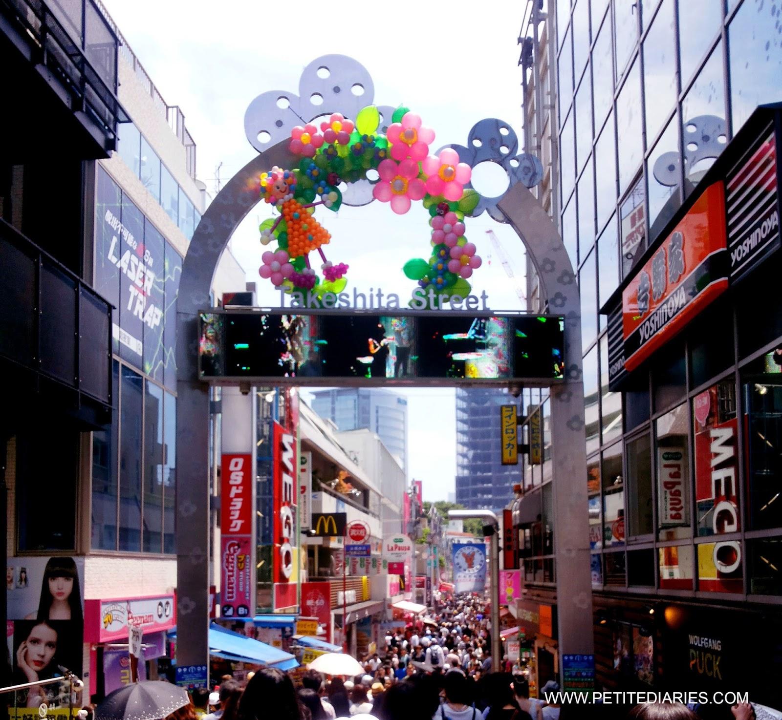 takeshita street harajuku shopping experience