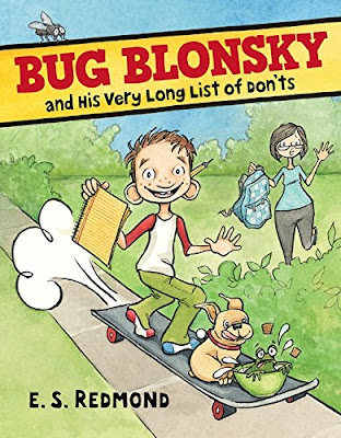 Well illustrated and humorous, many kids--especially those that struggle to make it through a school day without a mishap--will find Bug Blonsky and His Very Long List of Don'ts an amusing read. #childrenslit #upperelementary #bugblonsky