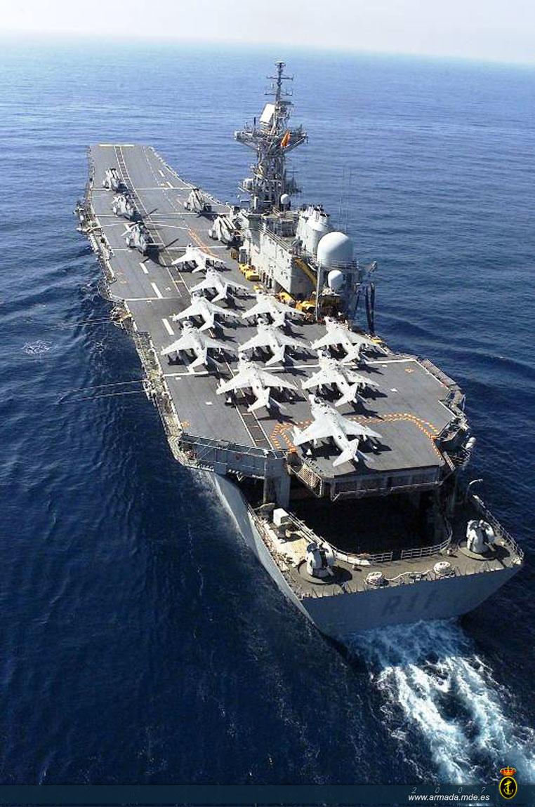 The REAL Reason Why Pakistan Does not have an Aircraft ...Spanish Aircraft Carrier Principe De Asturias
