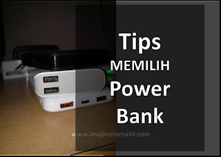 Hal-hal yang Perlu dipertimbangkan sebelum Membeli Power Bank