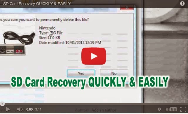 Sd card recovery ubuntu