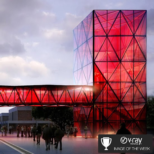 promo code c0232 fc91a Vray Workshop Image of the Week No.6th  Ricardo Canton -