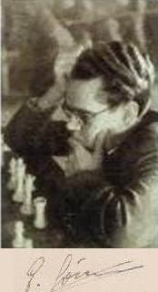 El ajedrecista Eugenio Gómez Rodríguez
