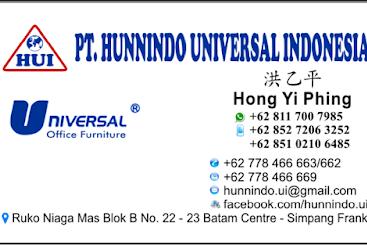 Lowongan Kerja PT. Hunnindo Universal Indonesia