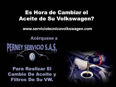 Taller Volkswagen Bogota - Cambio de Aceite y Filtros VW