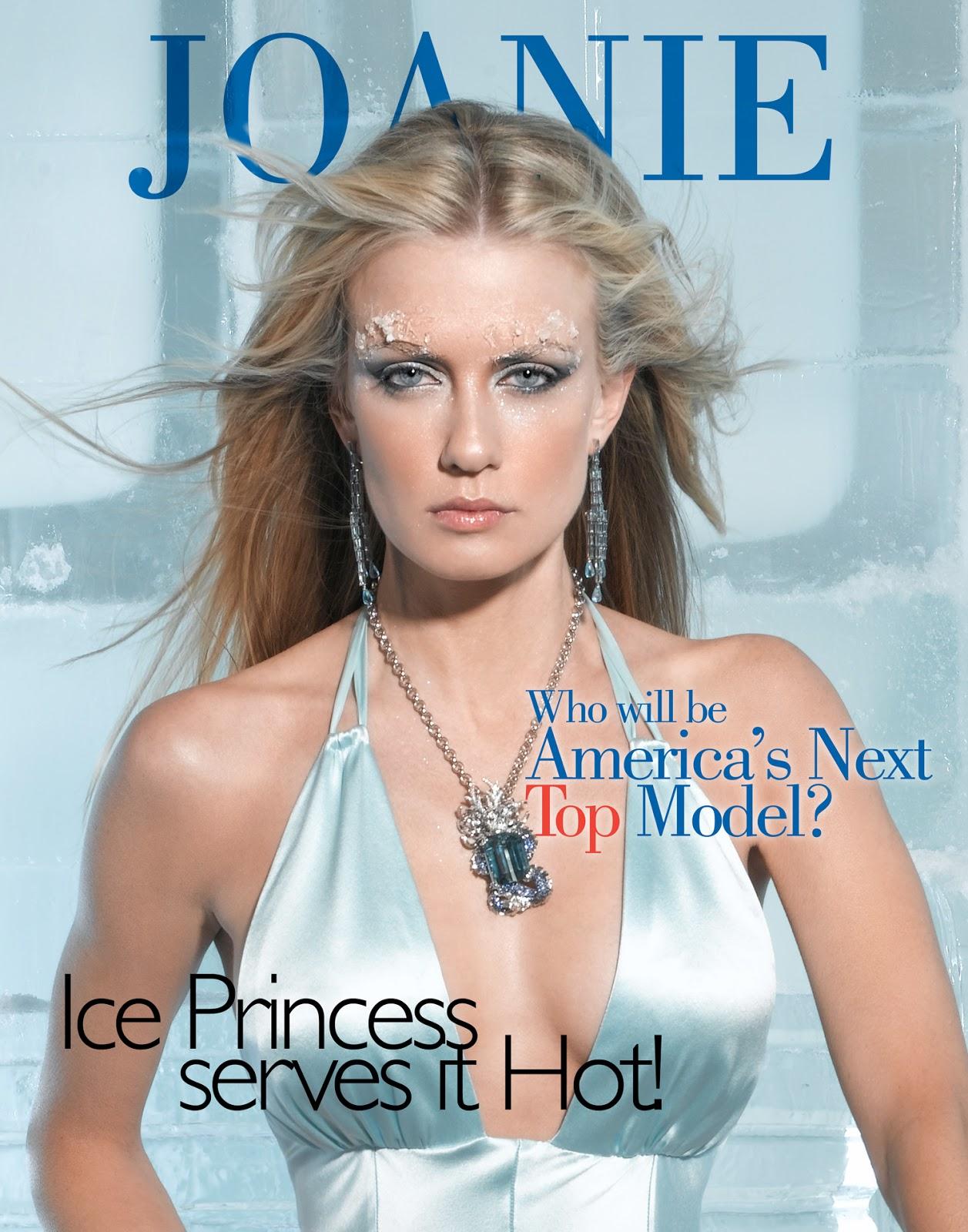 Next Top Model Blog: ANTM C6: Ice Princess Magazine Covers