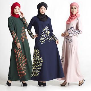 Gambar Model Gamis Murah Terbaru 2018 Untuk Wanita